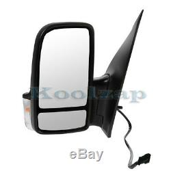 06-13 Sprinter Van Power Heat Turn Signal Lamp Rear View Mirror Left Driver Side