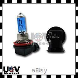 100w v12 H11 5000K Fog Driving Light Bulbs White Power Gas Xenon Halogen Lamp U3