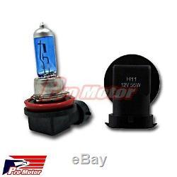 100w v12 H11 5000K Halogen Fog Driving Light Bulbs White Power Gas Xenon Lamp P5