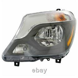 14-17 Sprinter 2500/3500 Headlight Headlamp Halogen Head Light Lamp Driver Side