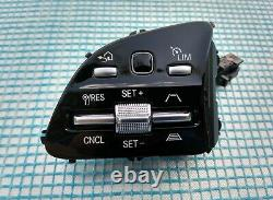 18-21 MERCEDES A220 C300 E300 G550 CONTROL BUTTON SWITCHES SET/PAIR golden light