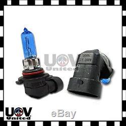 2 x 9005 Halogen V12 100W White 5000K Bulbs Gas Xenon Headlight High Beam DRL U2