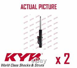 2 x FRONT AXLE SHOCK ABSORBERS PAIR STRUTS SHOCKERS KYB OE QUALITY 331701
