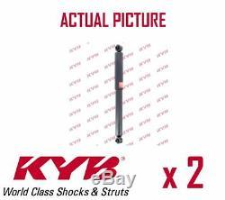 2 x REAR AXLE SHOCK ABSORBERS PAIR STRUTS SHOCKERS KYB OE QUALITY 343484