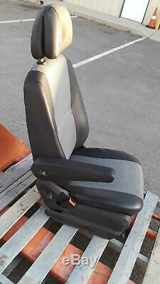 2007-2012 Dodge Sprinter 2500 W906 3.0l Front Left Driver Side Seat Leather Oem