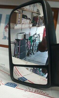 2010-14 Mercedes Benz Sprinter Driver Lh Side Power Signal Door Mirror Oem