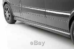 2013 & Older Mercedes Sprinter Body Kit Front Rear Bumper Side Skirts UNPAINTED