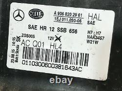 2014 2015 2016 2017 2018 Mercedes Sprinter 2500 3500 Headlight Halogen Right OEM