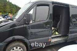 2015 Mercedes Sprinter Passengers Side Left Front Door Obsidian Black (9197)