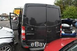 2015 Mercedes Sprinter Passengers Side Left Rear Door Obsidian Black (9197)