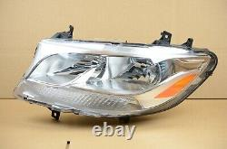2019 2020 2021 Mercedes Benz Sprinter Left Driver LH Halogen Headlight OEM