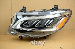 2019-2021 Mercedes Sprinter Left Driver LH LED Headlight Headlamp OEM Bare