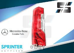 2019 Genuine Mercedes Sprinter Tail Light PAIR LEFT SIDE + RIGHT SIDE Assembly
