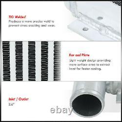 23X11.25X2.75 Same Side I/O Aluminum Performance Turbo Intercooler Universal