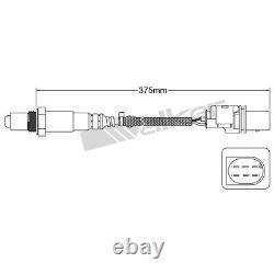 250-25042 Walker Products O2 Oxygen Sensor Driver or Passenger Side New for 323