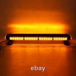 26.5 Amber 54W LED Traffic Advisor Double Side Emergency Flash Strobe Light Bar