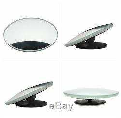 2X Autos 360° Wide Angle Convex Rear Side View Blind Spot Mirror For Universal
