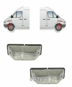 2x Side Indicators Marker Lights for MERCEDES SPRINTER VW LT MAN L2000 LH + RH