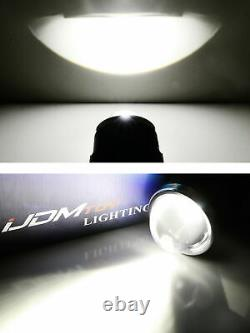 3.5 Projector Bi-Beam 10W LED Fog Lamp Assy For Acura Honda Ford Nissan Subaru