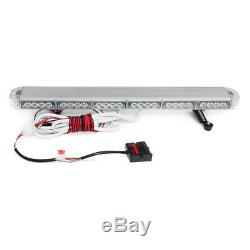 31'' 54 LED Emergency Warning Strobe Light Bar Traffic Advisor Double Side Light