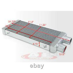 31.75x11.5x2.75 Same Side Inlet Out Turbo/Super Charger Front Intercooler