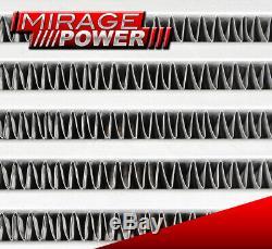 31.75x11.5x2.75 Same Side Inlet Outlet Aluminum Front Mount Intercooler