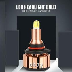 6x Combo 6Sides H7+H7+H11 COB LED Headlight Kit High Low Bulbs Fog Lamps 360°
