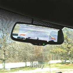 7.3in. LCD Display Mirror 3 inputs one 7in. Image or two side-by-side 4.3in. I