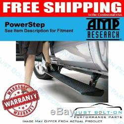 AMP PowerStep fits 2010-2017 Mercedes-Benz Sprinter 2500/3500 75163-01A Black