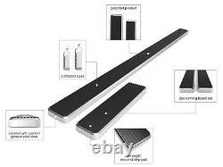 Brushed Silver 6 iBoard Side Step Bar Fit 10-21 Dodge Mercedes-Benz Sprinter