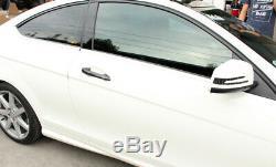Carbon Fiber Auto Door Handle Cover Trim For Benz C/E/GLC/CLA/S Class 4Door