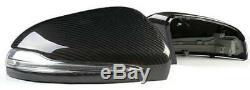 Carbon Fiber Mirror Cover Side Caps For Benz W205 X205 W222 W213 C63 S63 E63 AMG