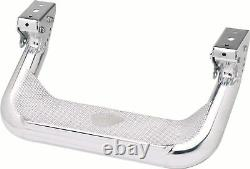 Carr 124032 Super Hoop Polished Truck Steps For Ford Nissan Toyota Chevy GMC