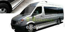 Dodge Mercedes Ford Sprinter Van 144 Universal Aluminum Running Board Side Step