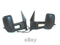 Fits MB Sprinter Side Rear View Mirror Long Arm Set Left Driver Right Passenger
