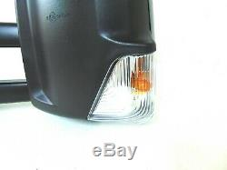 Fits MB Sprinter Side View Mirror Long Arm Heated Power Signal Left Driver