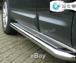 Fits Mercedes Sprinter Side Bars Steps Running Boards Chrome 2007+onw Ss Medium