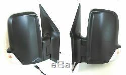 Fits Sprinter Van Side View Mirror Short Arm Set Heated Signal Power 2006-2018