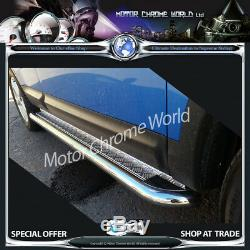 Fits To Mercedes Sprinter Lwb Side Bars Boards Chrome 2007+onwards Chequer Plt