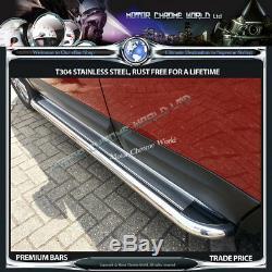 Fits To Mercedes Sprinter Side Barsrunning Boards Chrome 2007+onwards Ss Medium