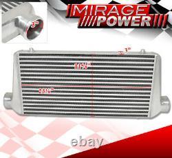 Fmic Front Mount Bar & Plate Turbo Racing 31 X 11.75 X 3 Intercooler Acura