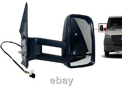 For 2019-2021 Mercedes Sprinter Right Front Door Side Rear View Mirror Long Arm