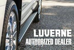 For Mercedes-Benz Sprinter 2500 10-19 Luverne 6 O-Mega II Silver Oval Side Bars
