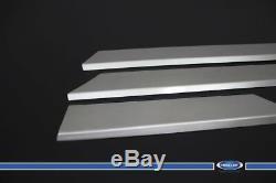 For Mercedes Sprinter W906 Dodge Chrome Side Door Overlay Sill S. Steel 2006-up