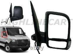 For Sprinter Mercedes Front Right Side Rear Mirror Power Short Arm 2019-2020 RH