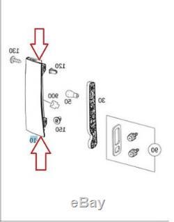 Genuine OEM Mercedes Sprinter Passenger Side Tail Light Assembly w Socket