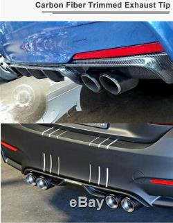 H Shape Glossy Black 2.5-3.5'' Car Dual Pipe Exhaust Muffler Tip Pipe Right Side