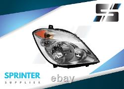 HEADLIGHT Right Side Passenger Lamp for Mercedes Sprinter Dodge fits 2007 2014