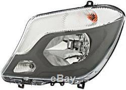 HELLA halogen right side passenger headlight FOR Mercedes Sprinter W906 2013-