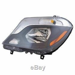 Halogen Headlight Lamp Assembly LH Left Driver Side for Mercedes Benz Sprinter